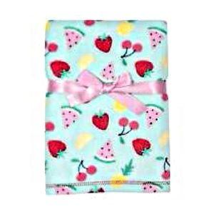 Baby Gear fruit  Baby Girls Blanket